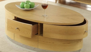 Modern Oval Coffee Table