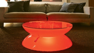 Multi Color Led Coffee Table