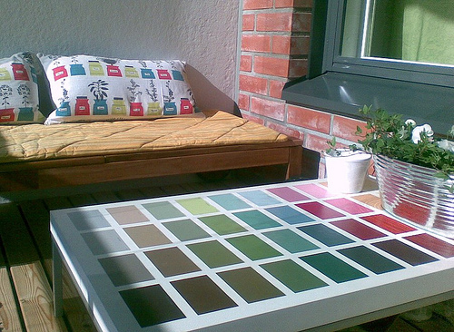 Multipainted Coffee Table