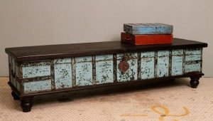 Narrow Antique Coffee Table