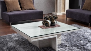 Natural Stone Marble Coffee Table