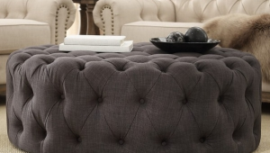 Nice Tufted Ottoman Coffee Table