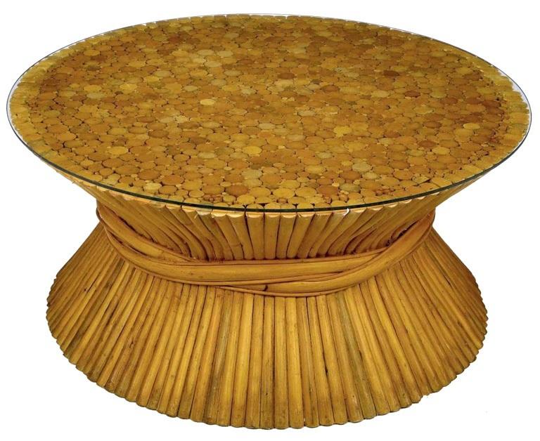 Original Bamboo Coffee Table