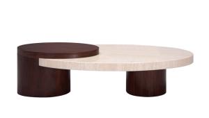 Original Travertine Coffee Table