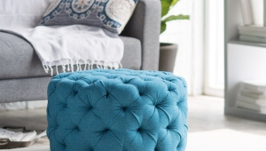 Ottoman Blue Coffee Table