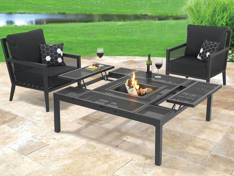 Outdoor Metal Coffee Table
