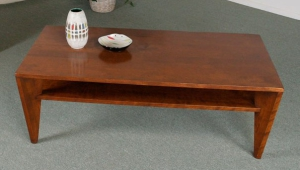 Polished Retro Coffee Table