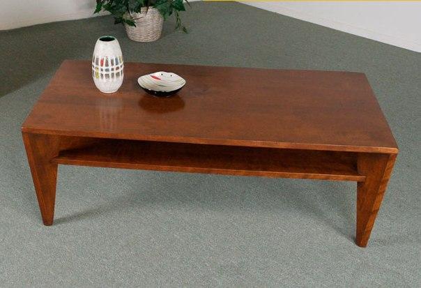 Polished Retro Coffee Table