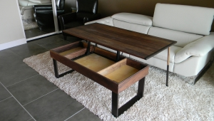 Pop Up Coffee Table With Storage