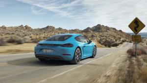 Porsche 718 Cayman Images