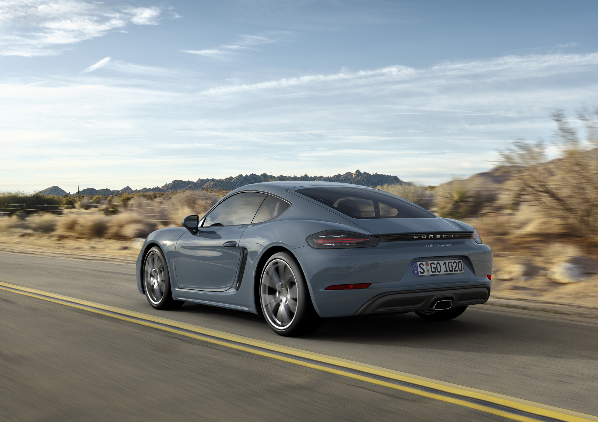 Porsche 718 Cayman Pictures