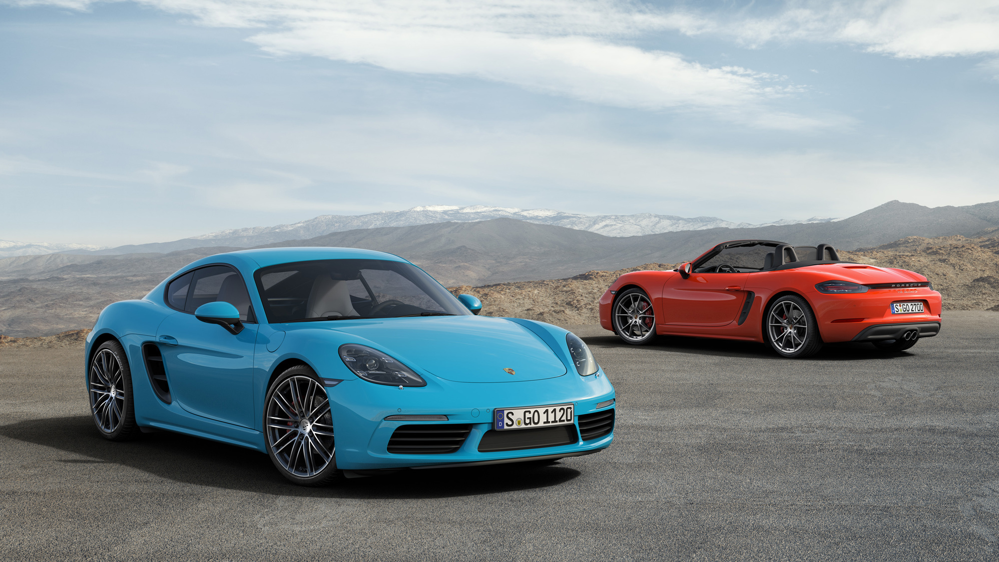 Porsche 718 Cayman Wallpapers