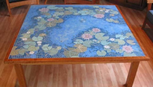 Pretty Mosaic Coffee Table