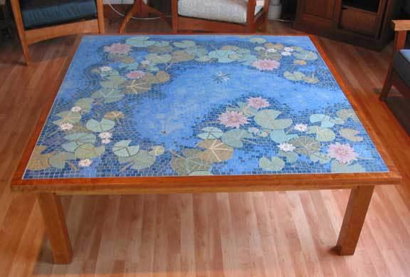 Pretty Mosaic Coffee Table