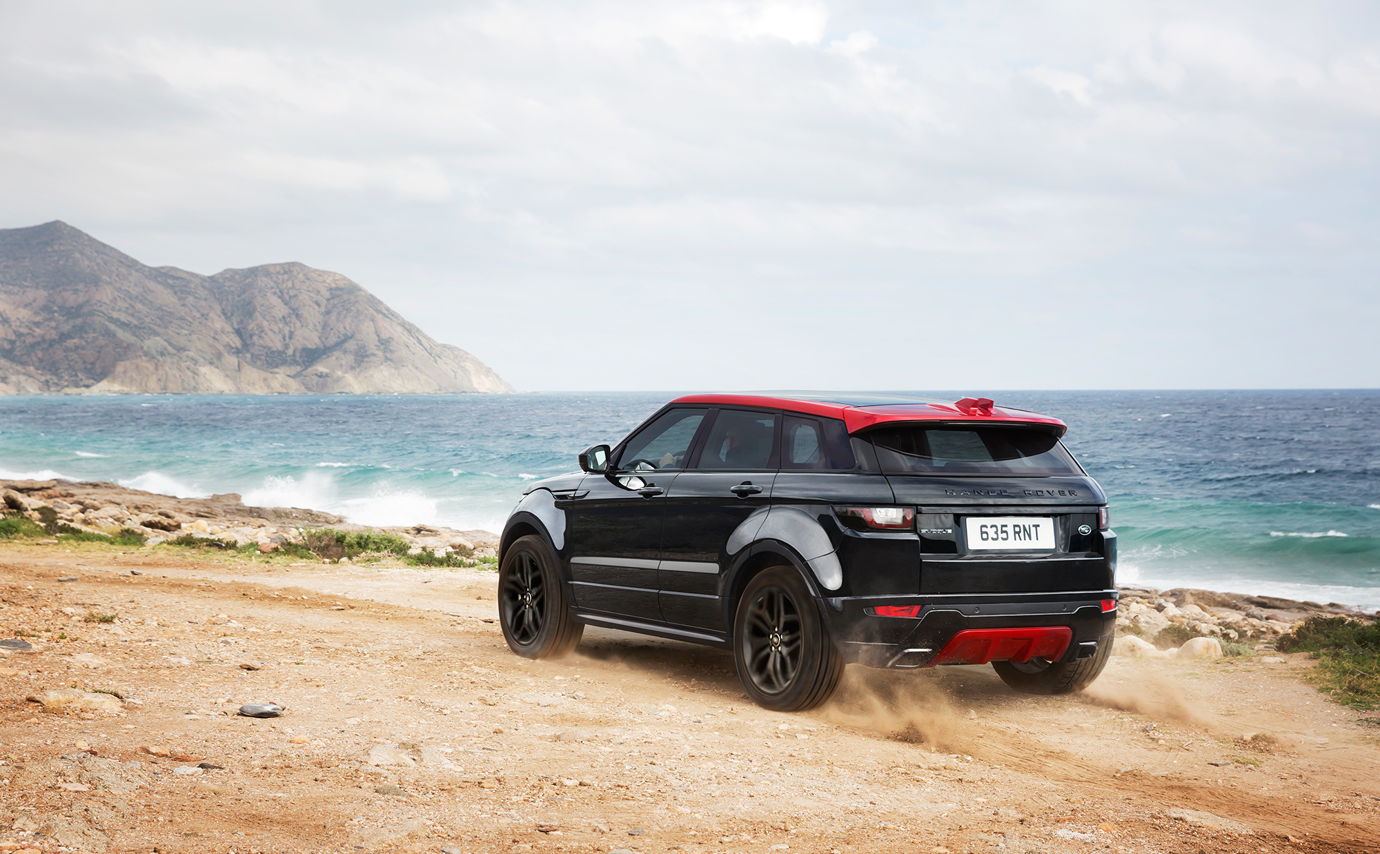 Range Rover Evoque 2017 HD Background