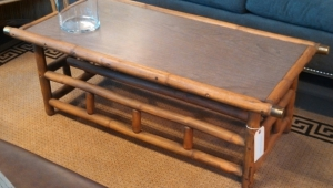 Rectangular Bamboo Coffee Table