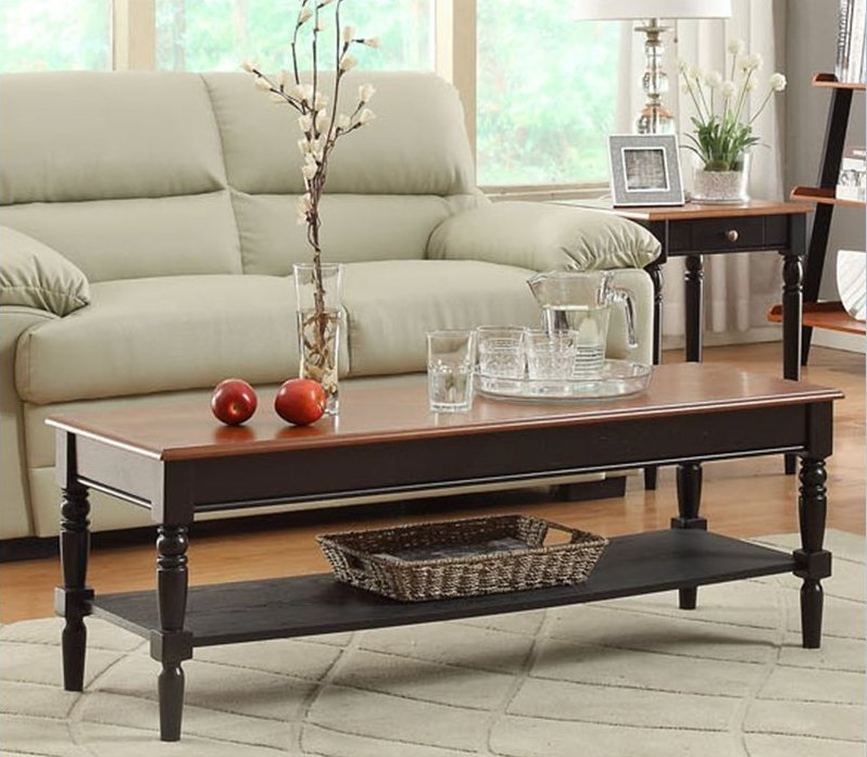 Rectangular French Country Coffee Table