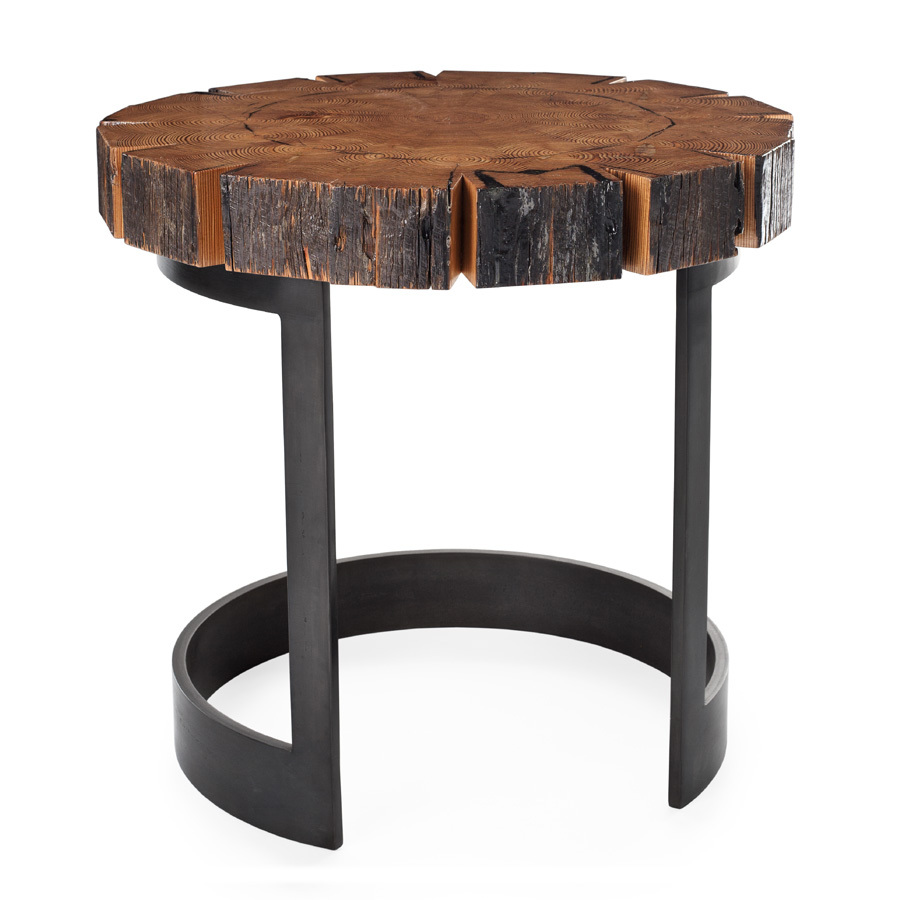 Rough Occasional Table