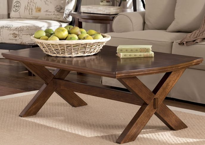 Rustic Coffee Table Style