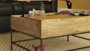 Rustic Transforming Coffee Table
