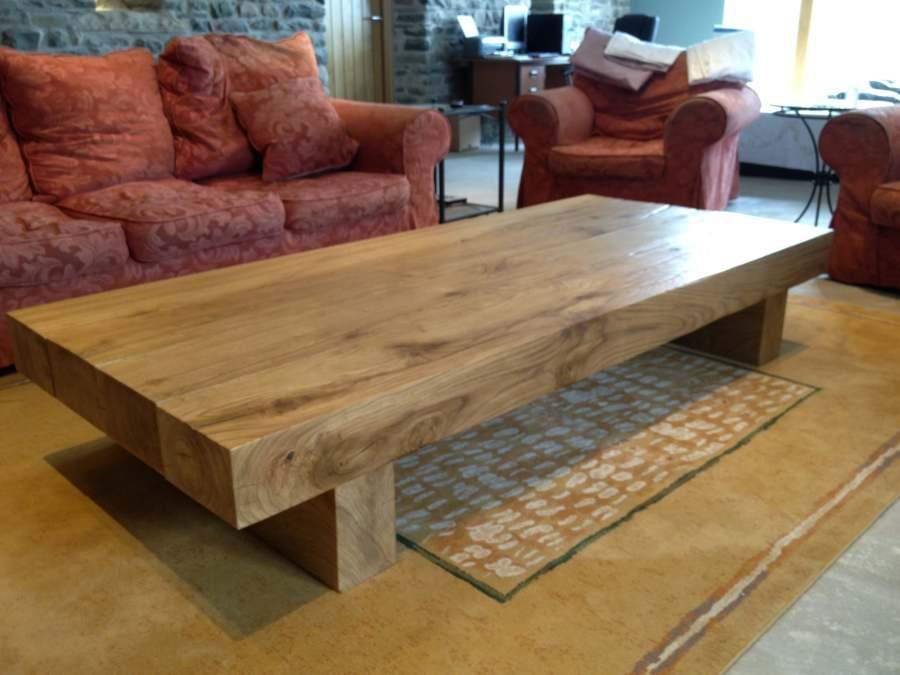 Rustic Wood Coffee Table Design