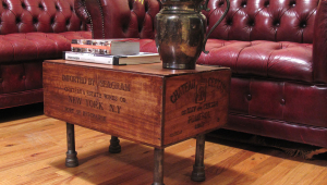 Single Crate Coffee Table