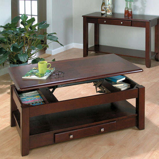 Sliding Top Coffee Tables Galore