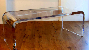 Small Lucite Coffee Table