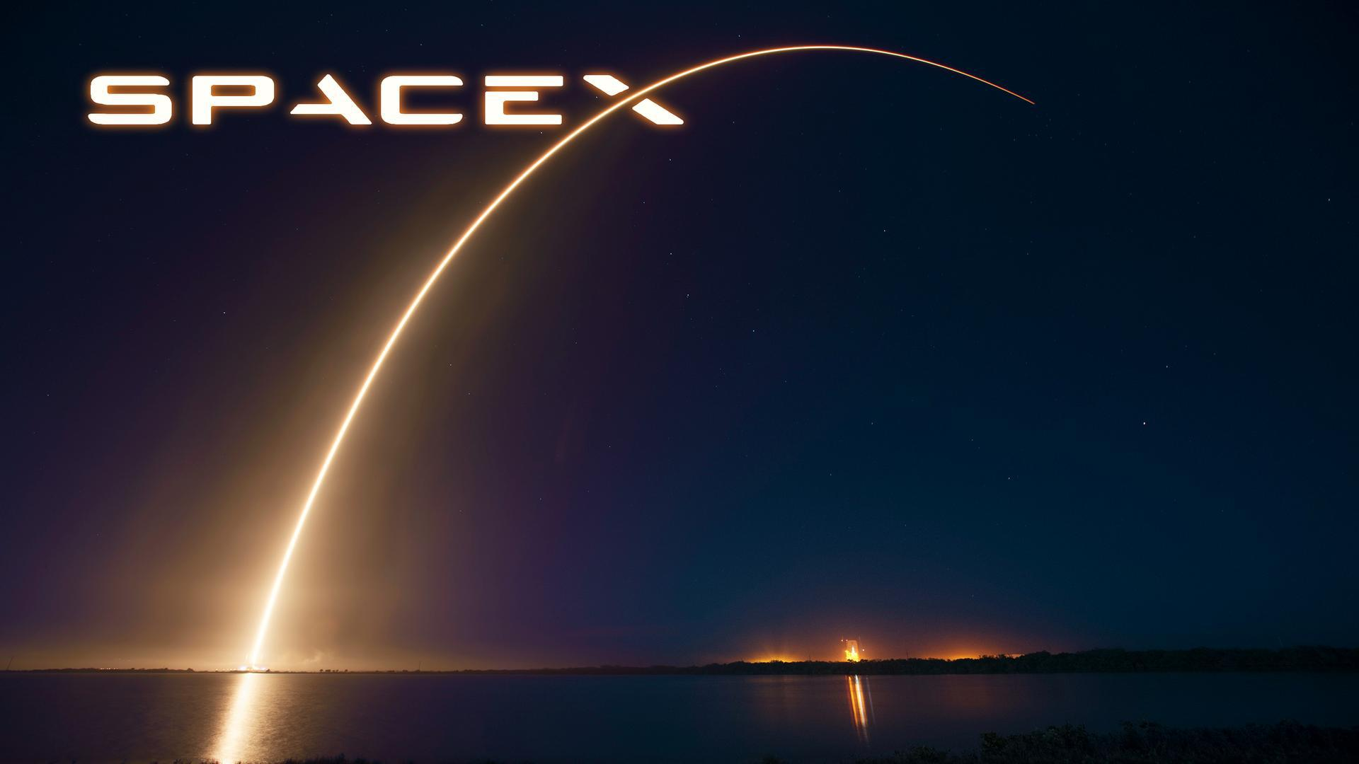 SpaceX Computer Backgrounds