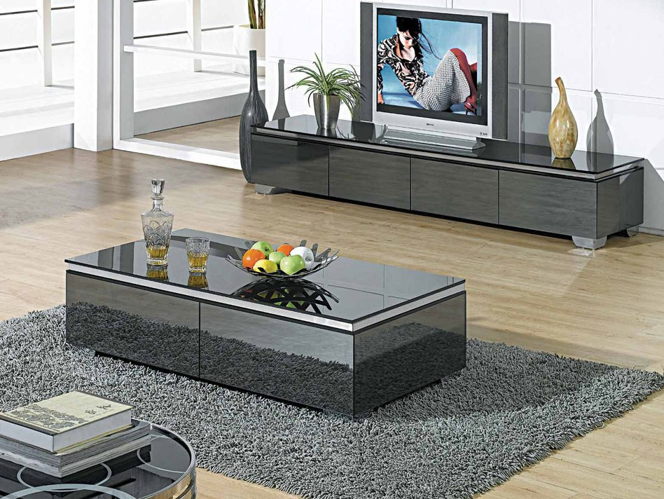 Sparkling Grey Coffee Table