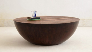 Spherical Oval Coffee Table