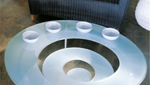 Spiral Funky Coffee Table