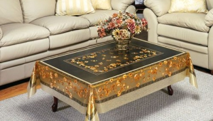 Tablecloth Coffee Table Cover
