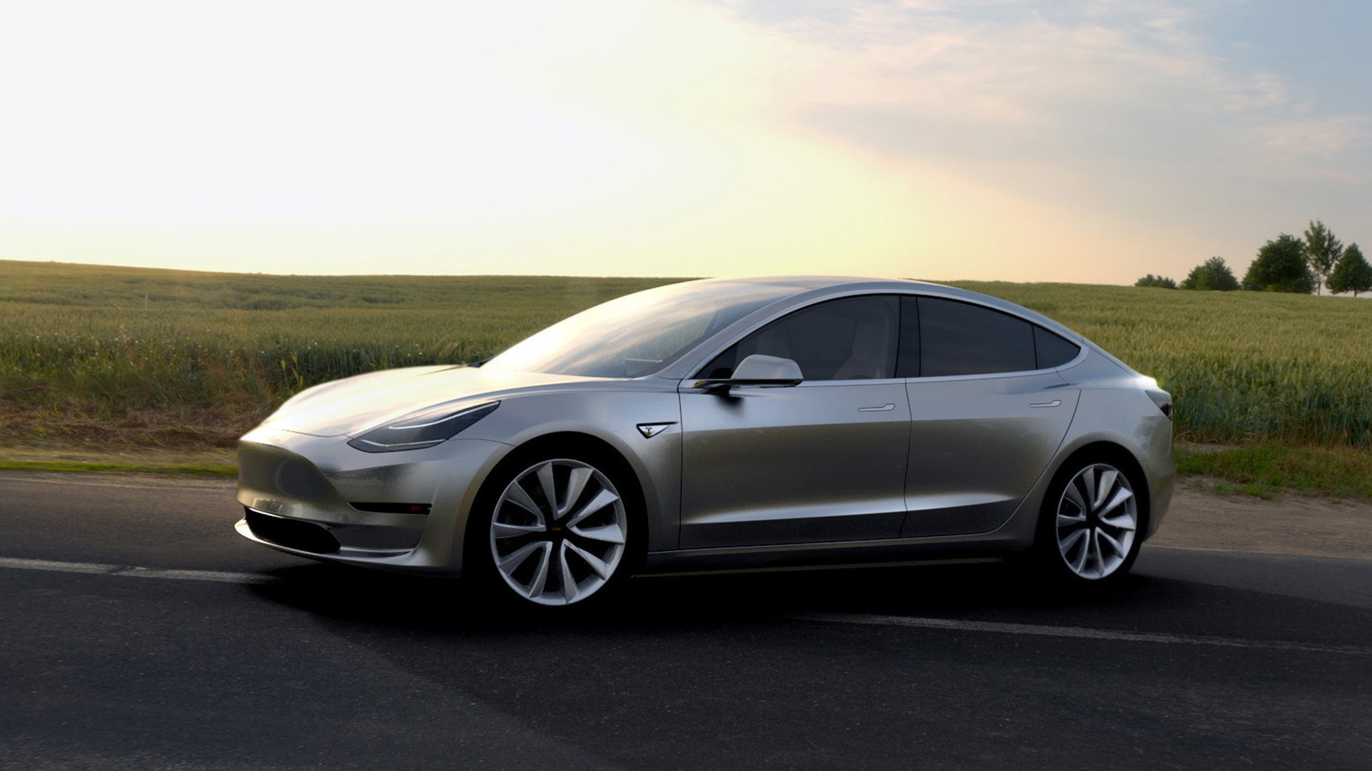 Tesla Model 3 Wallpapers