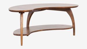 Tibro Dania Coffee Table With Shelf