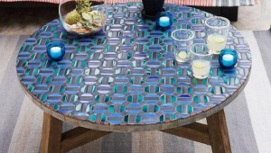Tiled Mosaic Coffee Table