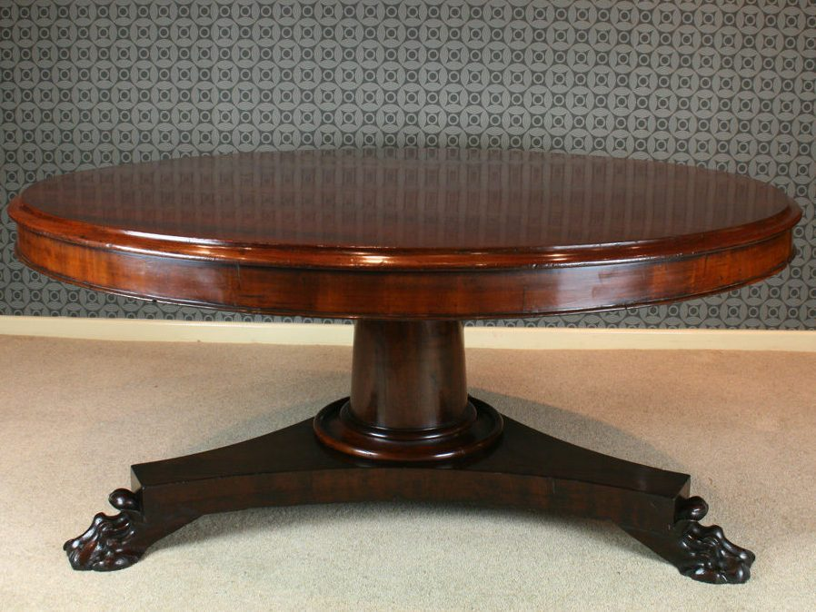 Traditional Redwood Coffee Table