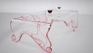 Ultra Modern Glass Coffee Table