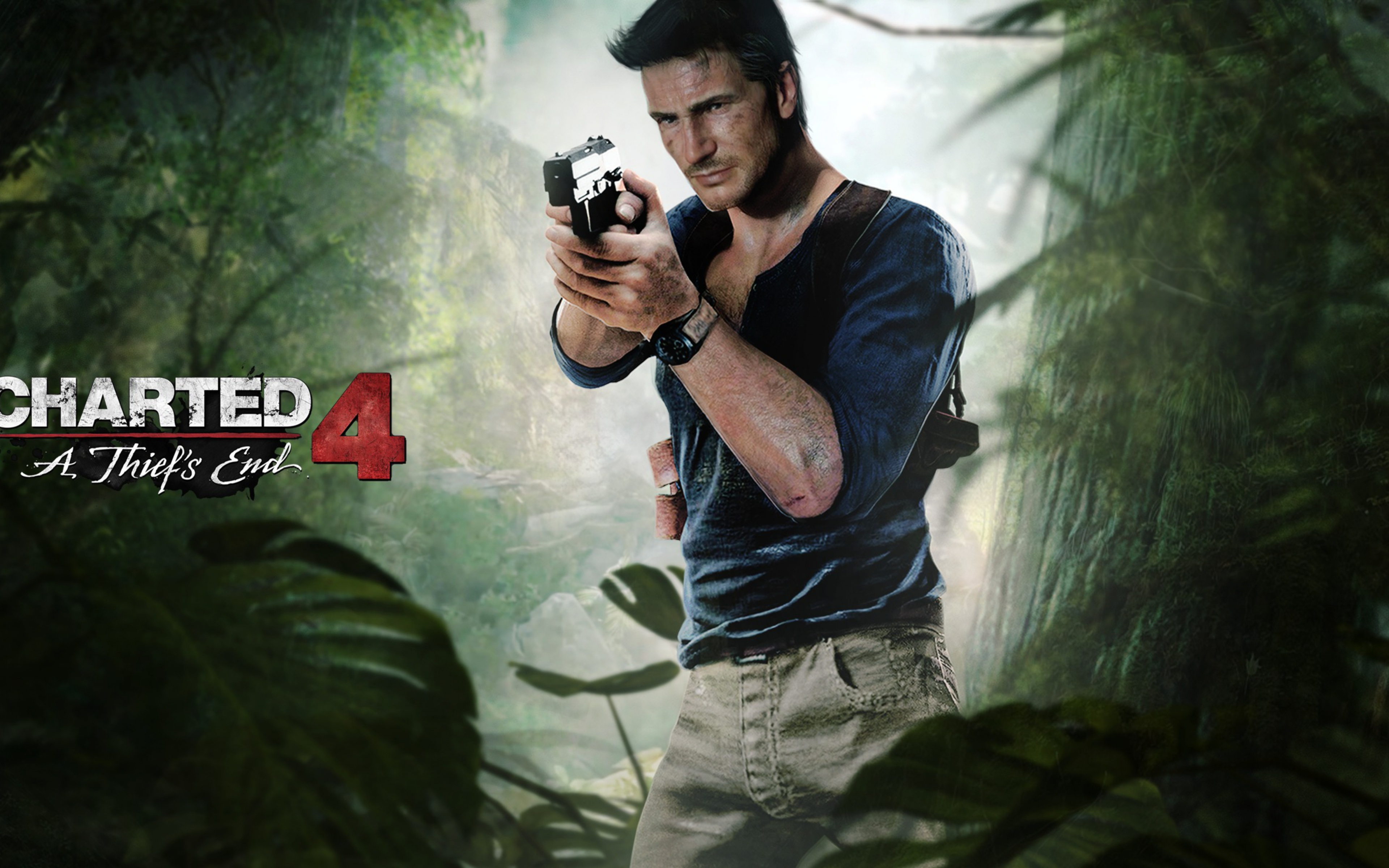 Uncharted 4 A Thief's End Widescreen