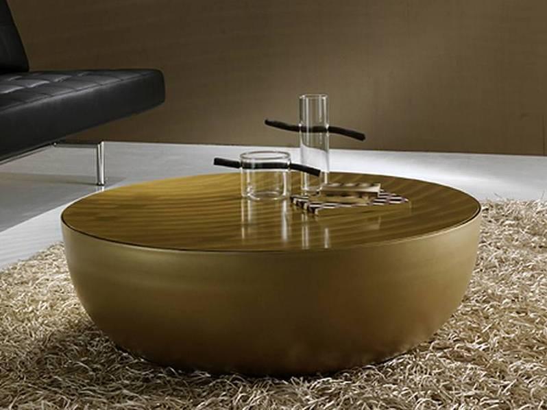 Unique Gold Coffee Table