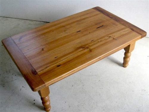 Varnishing Pine Coffee Table