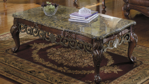 Vintage Granite Coffee Table