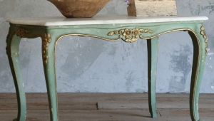 Vintage Painted Coffee Table