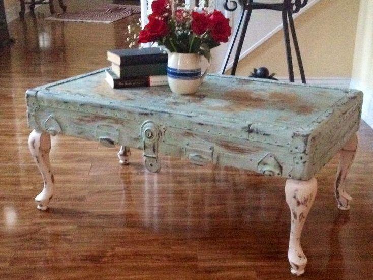 Vintage Shabby Coffee Table