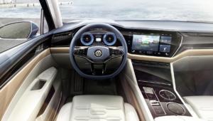 Volkswagen T Prime Concept GTE HD Background