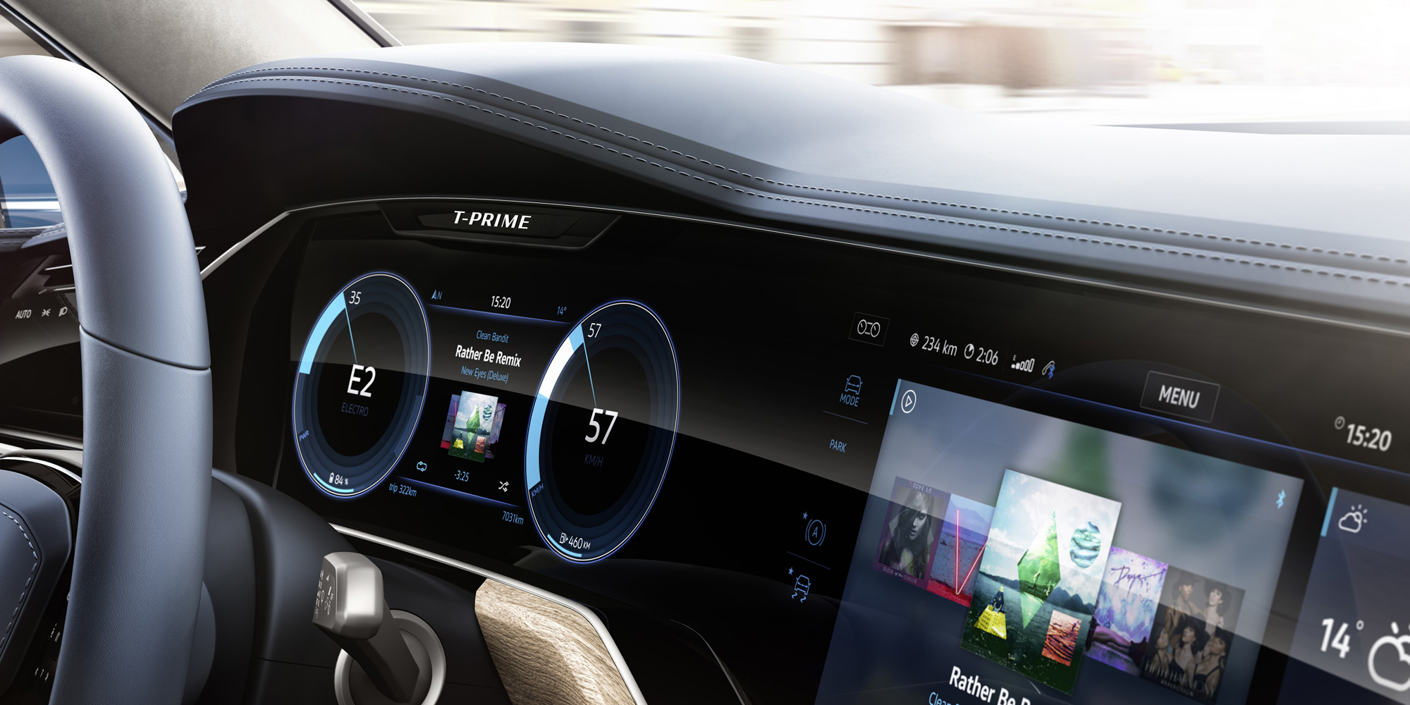 Volkswagen T Prime Concept GTE HD Desktop