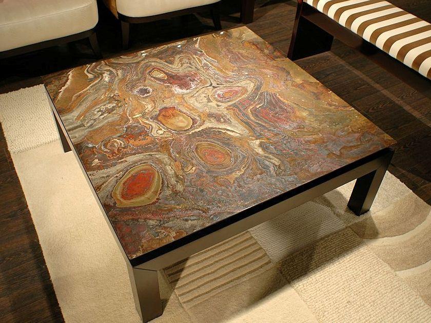 Wonderful Stone Coffee Table