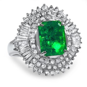 Antique Emerald Rings