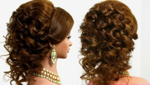 Arabic Wedding Hairstyle For Medium Long Hair Youtube Thumbnail
