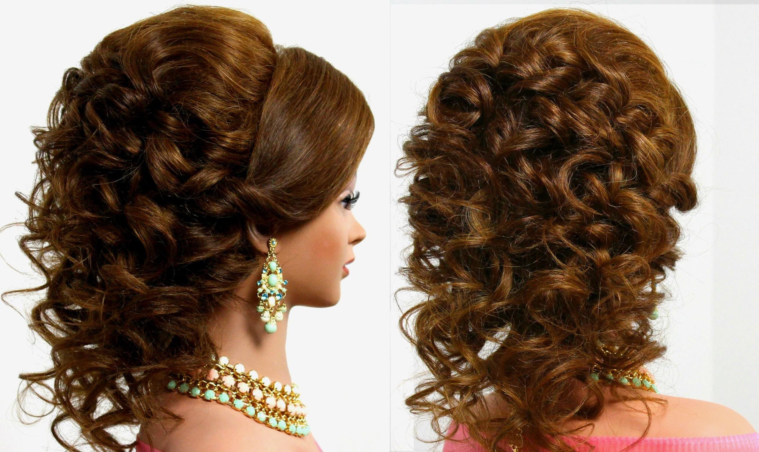 Arabic Wedding Hairstyle For Medium Long Hair Youtube Thumbnail